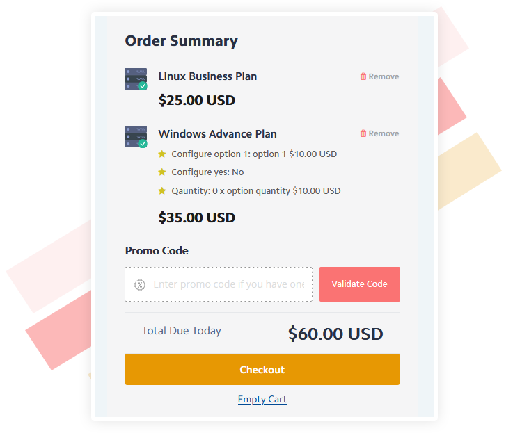 Fully Responsive WHMCS One Step Checkout