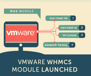VMware WHMCS Module Launched banner image