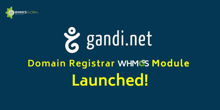 WHMCS Gandi,net Module