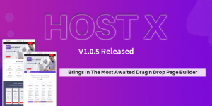 WHMCS Template HostX V1.0.5 Released