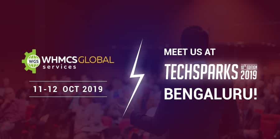 WHMCS Global Services in Techsparks 2019