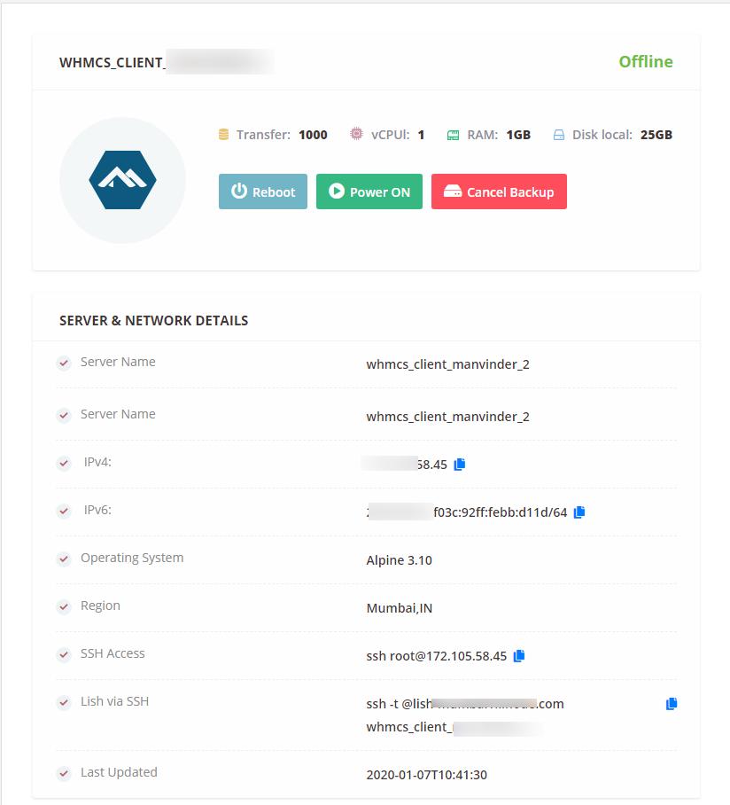 WGS-Linode-Module-WHMCS-Client-Area-Clie