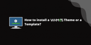 How to install a whmcs theme?
