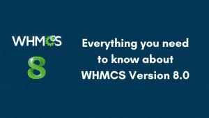 WHMCS V8.0