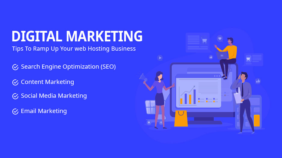 How to market a web hosting business