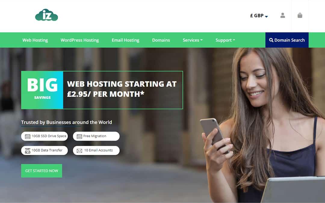 innzone hosting whmcs hosting theme